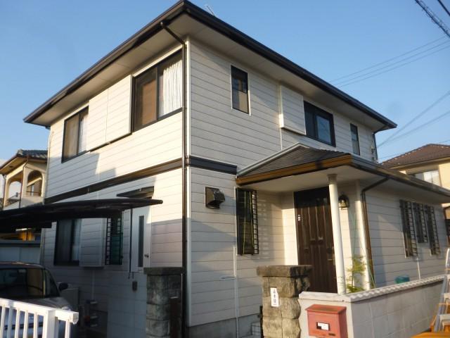 塗装後の兵庫県加古川市M様邸
