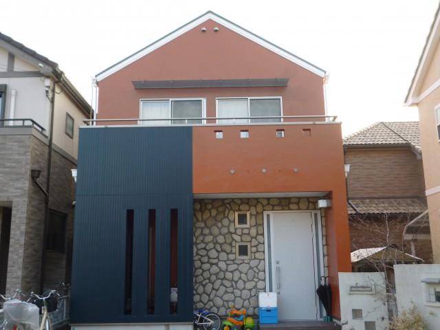 新築のようになった塗装後の兵庫県神戸市M様邸