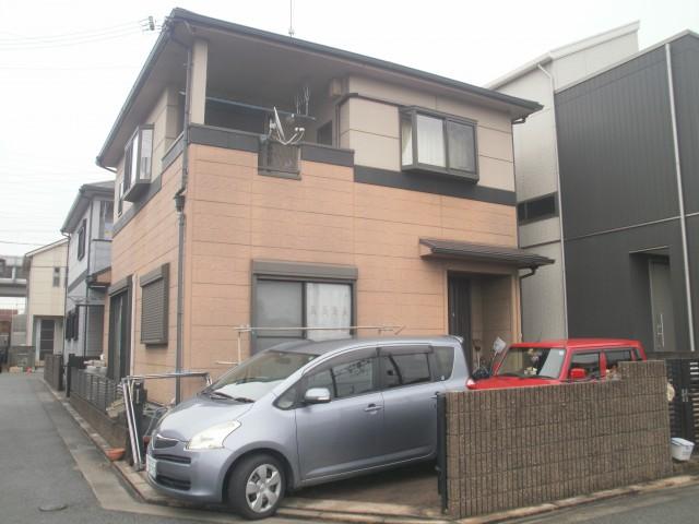 塗装前の兵庫県加古川市M様邸