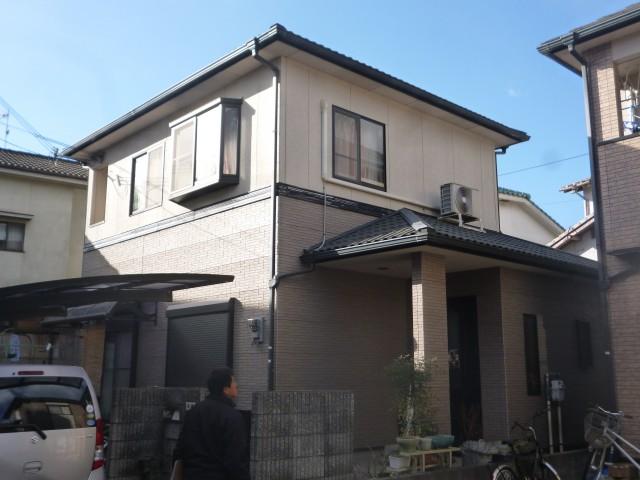 塗装前の兵庫県姫路市N様邸