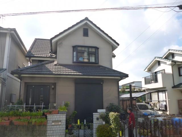 塗装前の兵庫県高砂市S様邸
