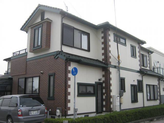 塗装後の兵庫県姫路市K様邸