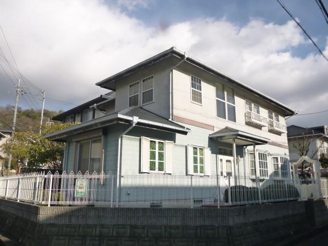塗装前の兵庫県姫路市K様邸