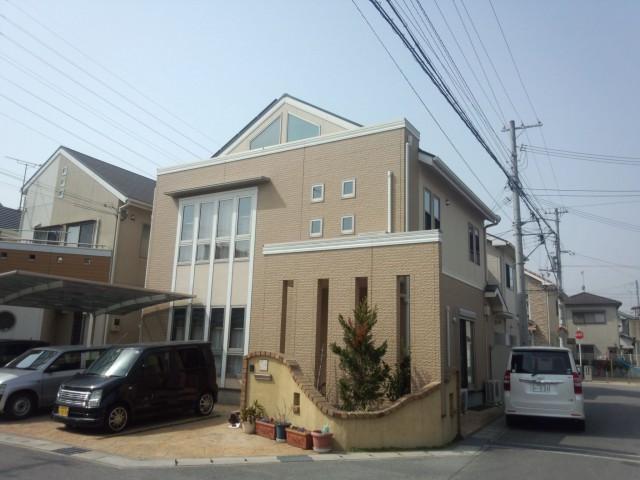 塗装前の兵庫県姫路市M様邸