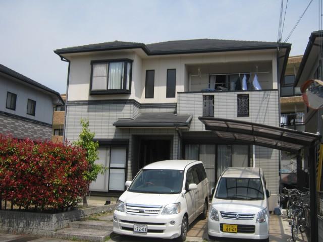 塗装前の兵庫県姫路市F様邸