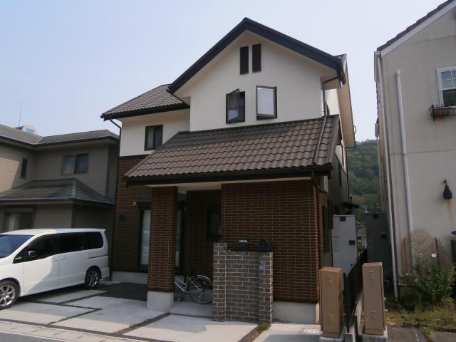 塗装後の兵庫県姫路市S様邸