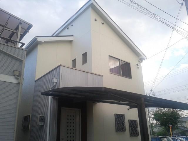施工後の兵庫県加古川市N様邸