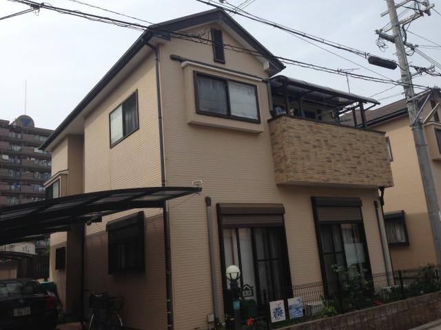 施工前の兵庫県明石市K様邸