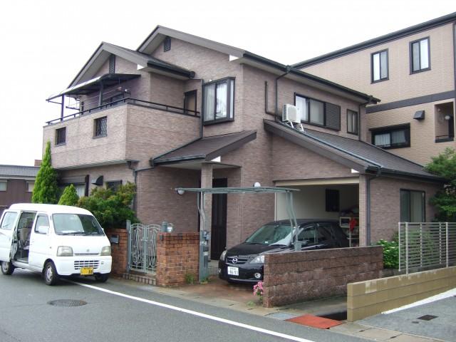 塗装前の兵庫県姫路市O様邸