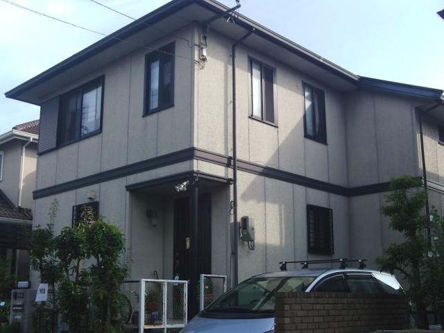 塗装前の兵庫県神戸市O様邸