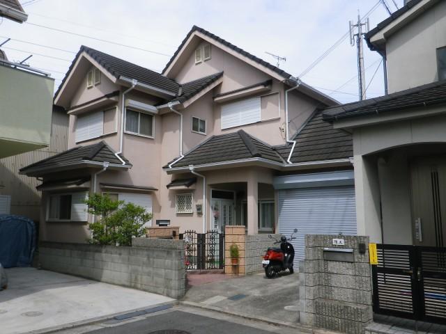 塗装前の兵庫県加古川市H様邸