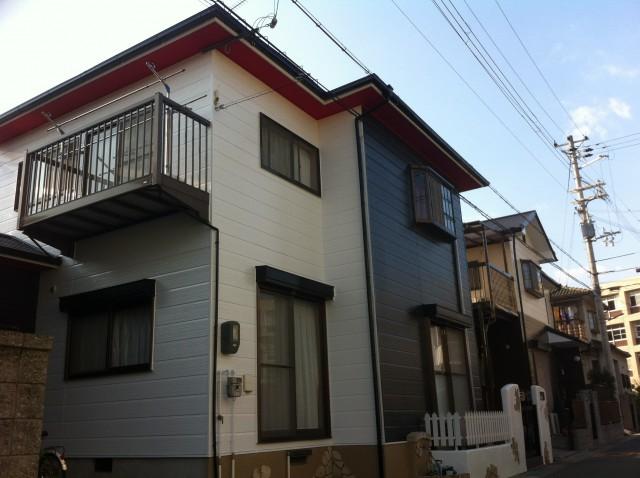 塗装後の兵庫県加古川郡M様邸