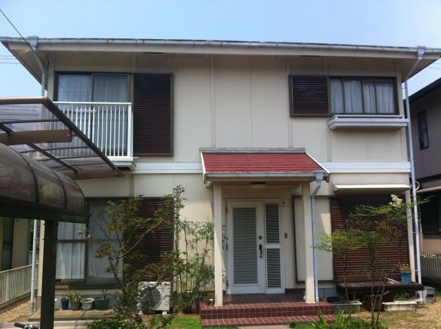 塗装前の兵庫県神戸市H様邸