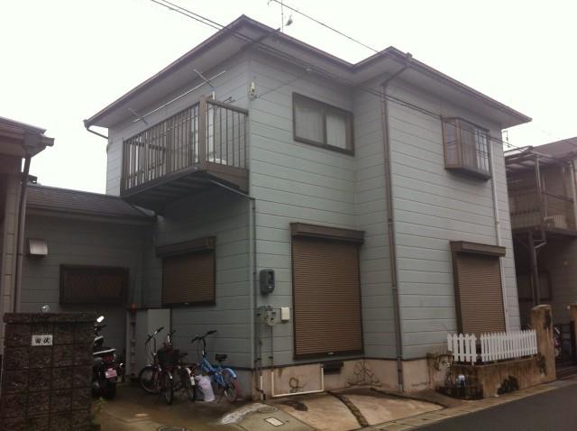 塗装前の兵庫県加古川郡M様邸