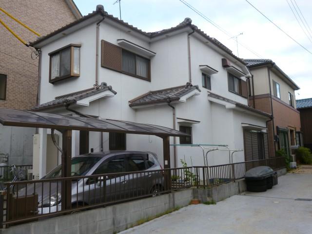 塗装前の兵庫県姫路市T様邸