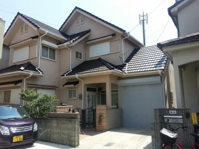 塗装後の兵庫県加古川市H様邸