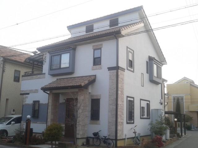 塗装後の兵庫県高砂市K様邸