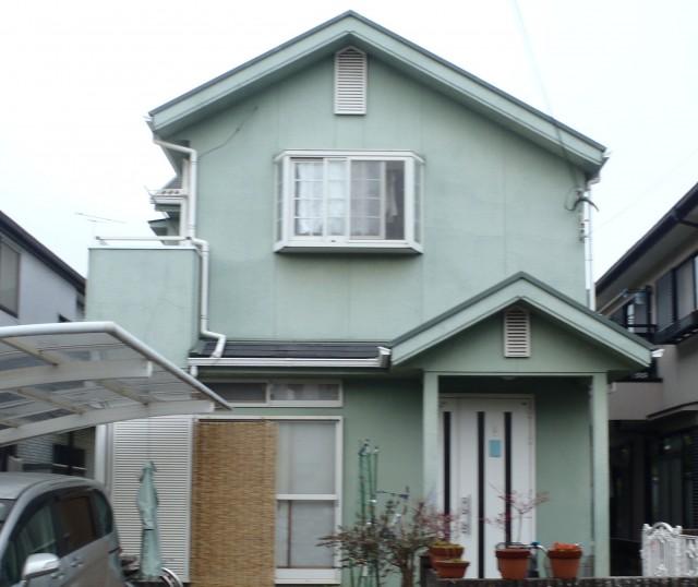 塗装前の兵庫県加古川市E様邸