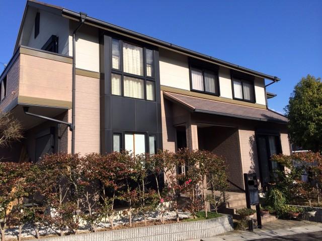 塗装前の兵庫県神戸市A様邸