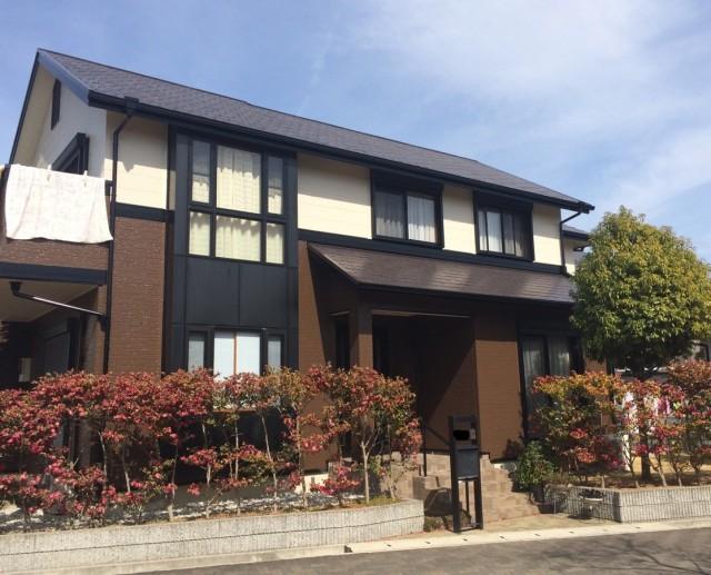 お洒落なレストラン風の塗装後の兵庫県神戸市A様邸