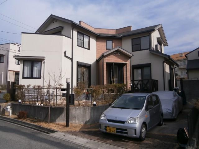 塗装前の兵庫県神戸市K様邸