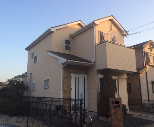 塗装前の兵庫県加古川郡A様邸