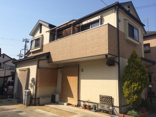 塗装前の兵庫県加古郡O様邸