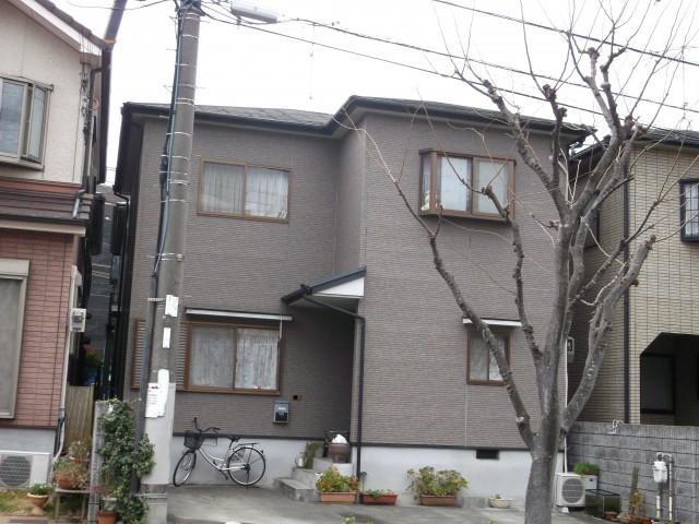 塗装前の兵庫県明石市H様邸