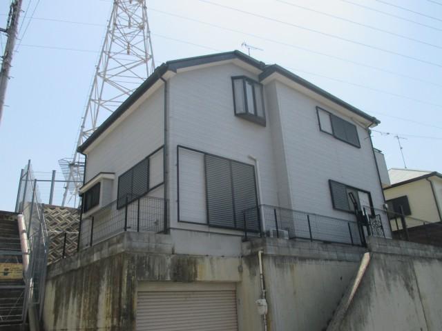 塗装前の兵庫県神戸市のM様邸