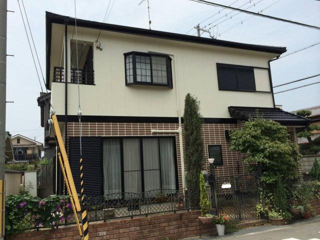 外壁塗装後の兵庫県加古郡のU様邸