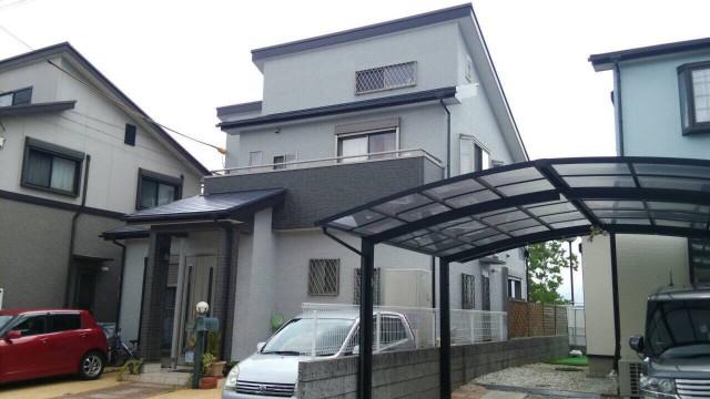 シックな色合いの神戸市北区のU様邸
