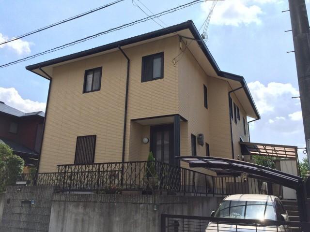 フッ素ルミフロン施工後の神戸市北区のS様邸