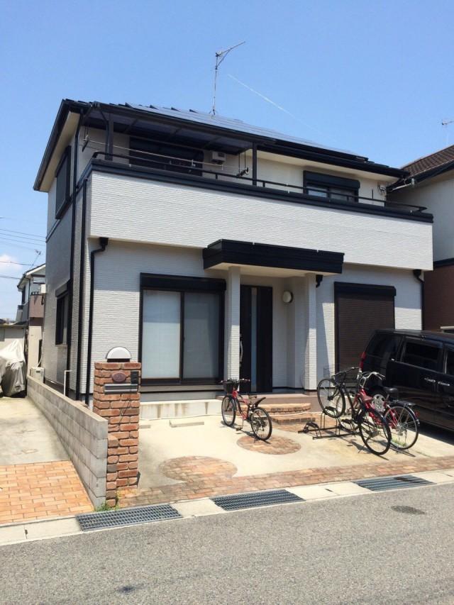 広々エントランスの神戸市西区のM様邸