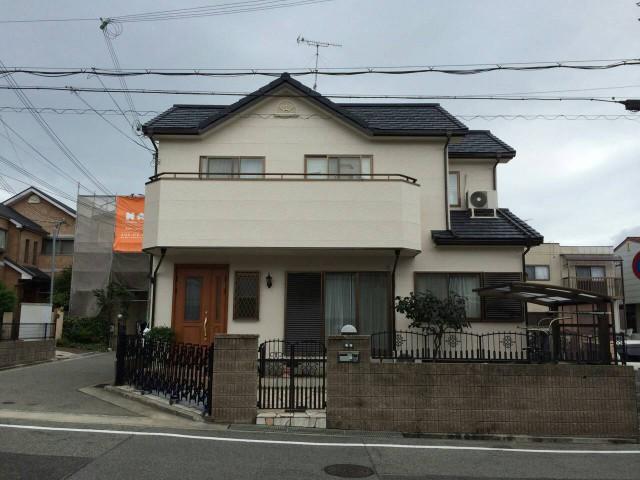 屋根の葺き替え後の神戸市西区のN様邸