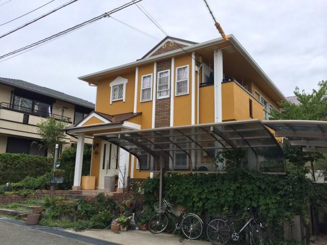 洋館のような神戸市北区のO様邸