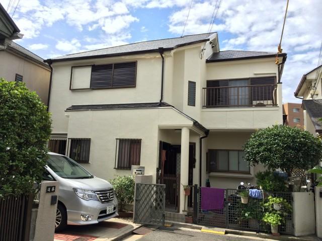 ツートンカラーの神戸市西区のY様邸