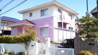ピンク色がかわいらしい西宮市のS様邸