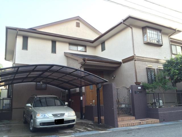 お洒落な外観の神戸市西区のM様邸