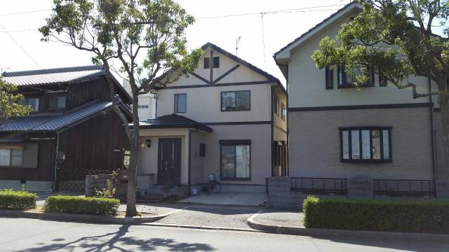 お洒落な玄関の神戸市西区のS様邸