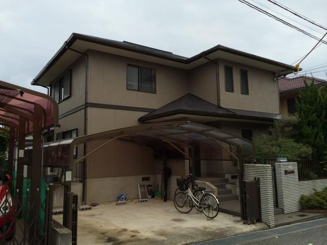 シックな色合いの神戸市西区のT様邸
