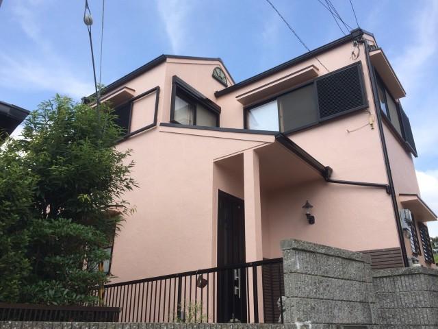 薄紫の神戸市垂水区のH様邸