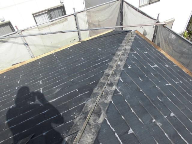 屋根の葺き替え施工前