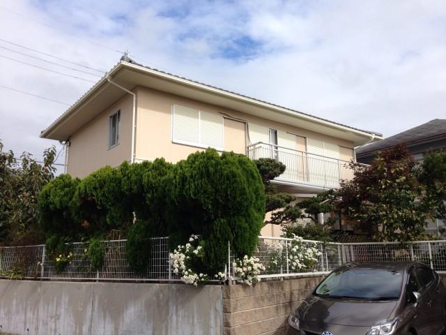 塗装前の三田市のW様邸