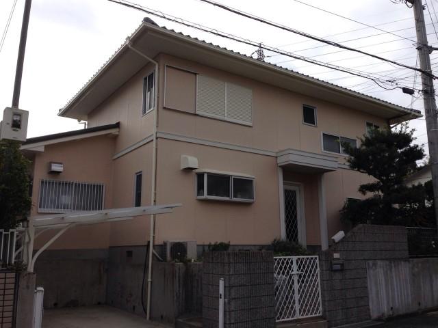 塗装後の三田市のW様邸