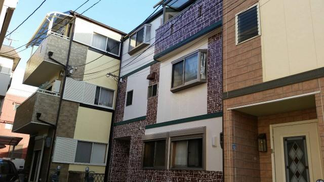 レンガが特徴的な兵庫県神戸市灘区のF様邸