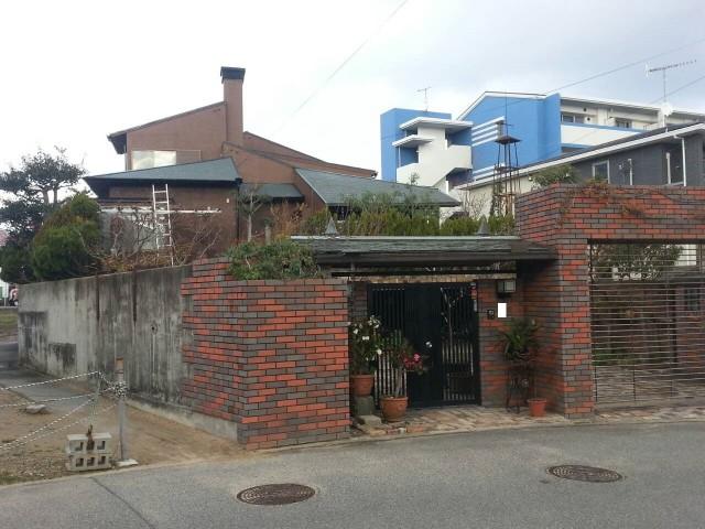 レンガ塀がお洒落な神戸市西区のI様邸