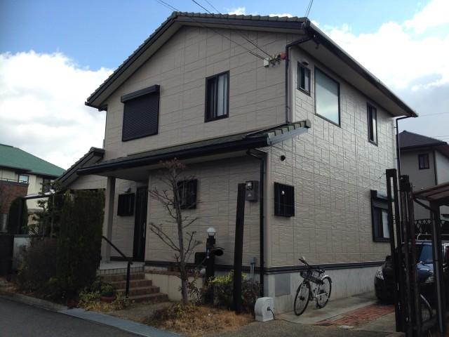 茶系の縁取りの兵庫県神戸市西区のN様邸