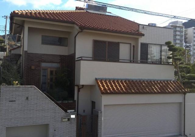 瓦屋根が美しい神戸市須磨区のK様邸