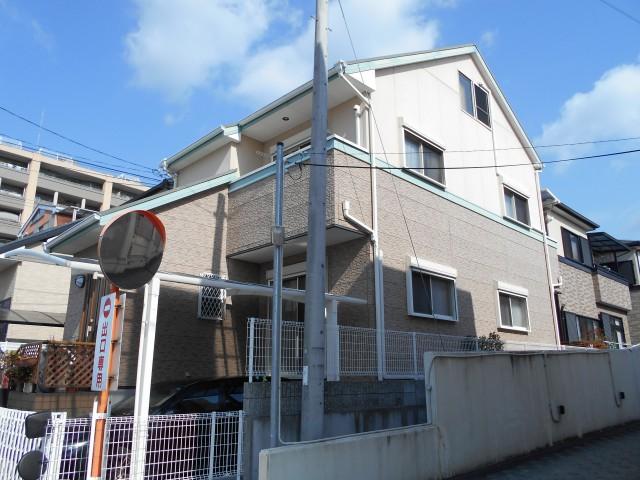 塗装前の兵庫県宝塚市のW様邸