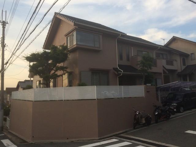 ブラウン系のお洒落な兵庫県神戸市のK様邸